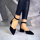 Шикарные туфли на каблуке на ремешке, фото 9