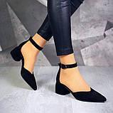 Шикарные туфли на каблуке на ремешке, фото 10