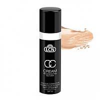 LCN Regenerating Silk Skin CC Cream - Регенерирующая шелковая CC основа - soft caramel 30 ml