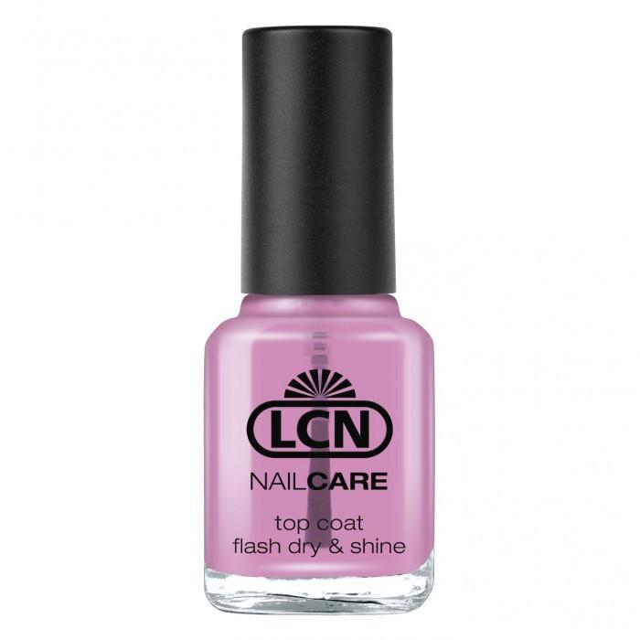LCN Top Coat Flash Dry & Shine - Топ с мгновенным высыханием и глянцем 16ml