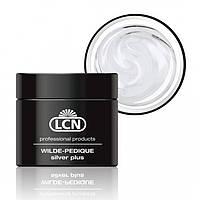 LCN WILDE-PEDIQUE silver plus - Гель для протезирования ногтей на ногах с серебром 5 ml
