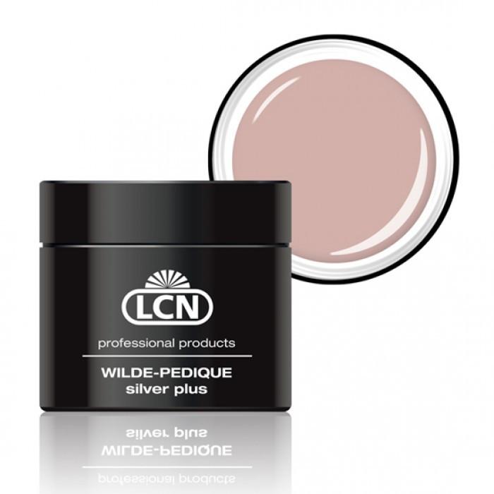 LCN WILDE-PEDIQUE, natural beige (бежевый) - Гель для протезирования ногтей на ногах с серебром 5 ml
