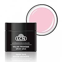 LCN WILDE-PEDIQUE, pastel (пастельный) - Гель для протезирования ногтей на ногах с серебром 5 ml