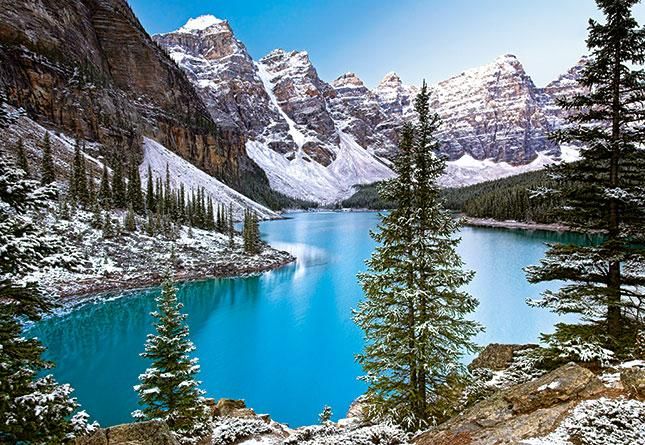 Пазлы Castorland 1000 элементов, 68х47 см, в коробке, Озеро, Канада (природа)