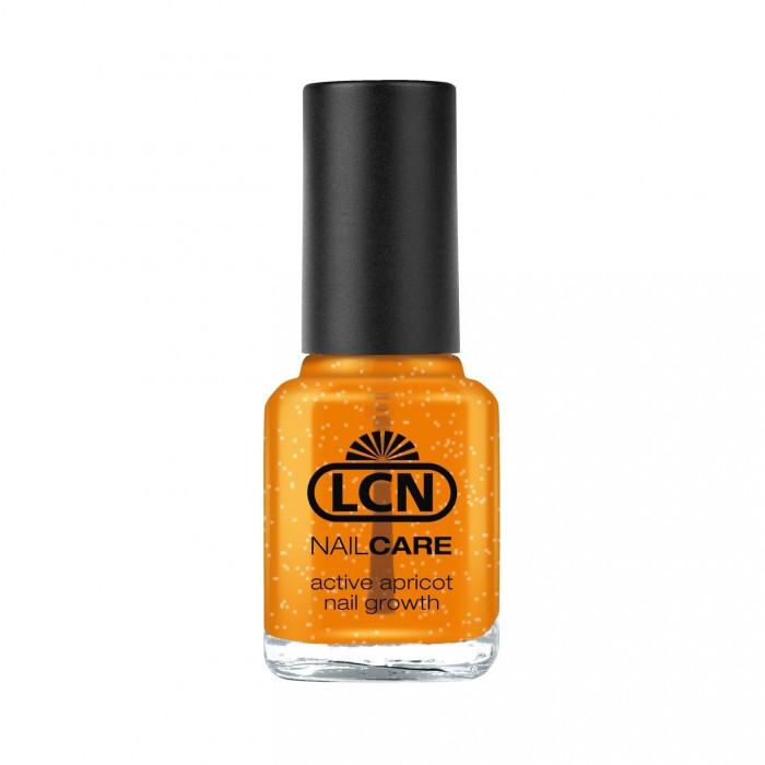 LCN Active apricot nail growth - средство для укрепления ломких ногтей с экстрактом абрикоса 16ml