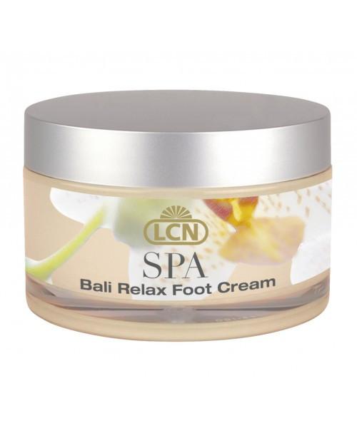 LCN SPA Bali Relax Foot Cream - крем для сухой кожи ног с маслом Моной и экстрактом гибискуса 100 ml