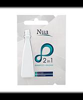 Nua Шампунь бальзам 2в1 для всех типов волос (ампула) 10 ml