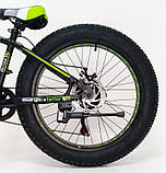 Велосипед S800 Hammer Extrime 24 Fat Bike, фото 4