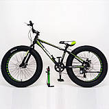 Велосипед S800 Hammer Extrime 24 Fat Bike, фото 7