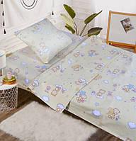 Детское постельное белье в кроватку, бязь (110х140) 100% хлопок