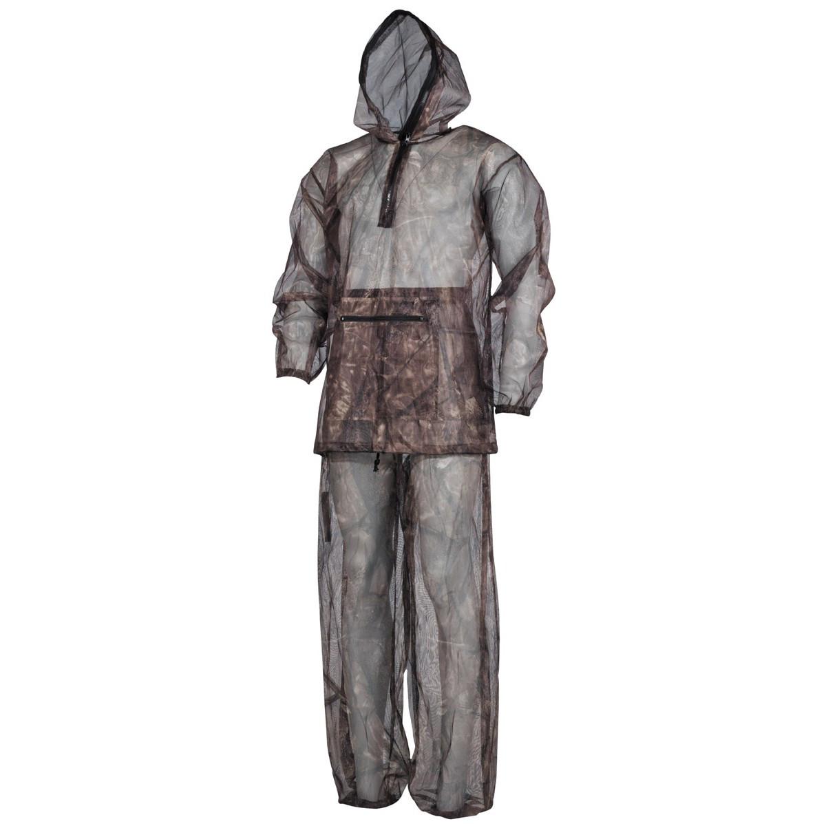 Антимоскитный костюм из 2 частей, охотничий камуфляж MFH