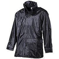 Дождевик чёрный, полиэстер с ПВХ MFH, фото 1