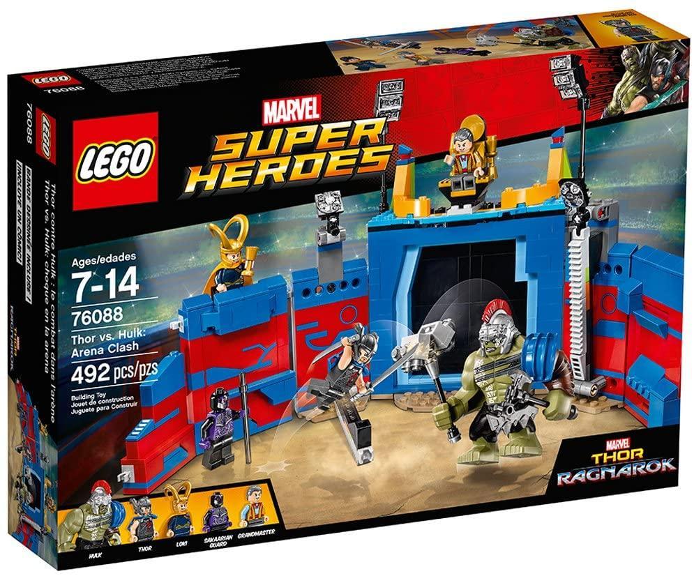 Конструктор LEGO Super Heroes 76088 Тор проти Халка: Бій на арені