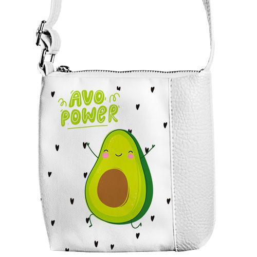 Сумка детская Little princess Avo power авокадо (PSD_20M005_WH)