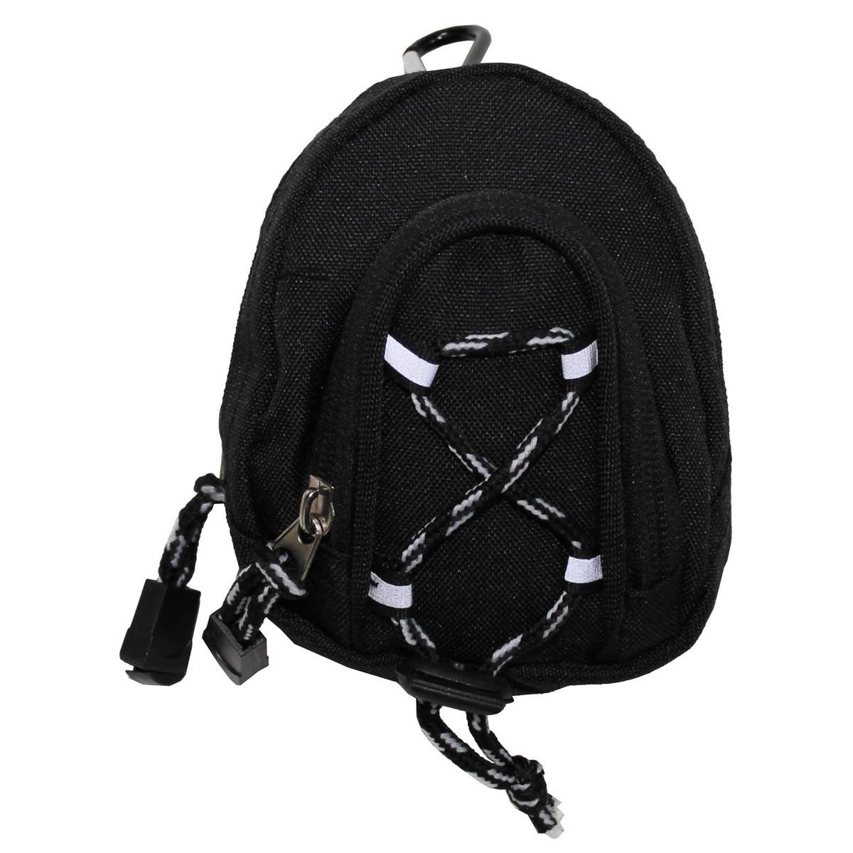 Чехол для фотокамеры или других мелочей со шнуром чёрный 13x11x4см Fox Outdoor