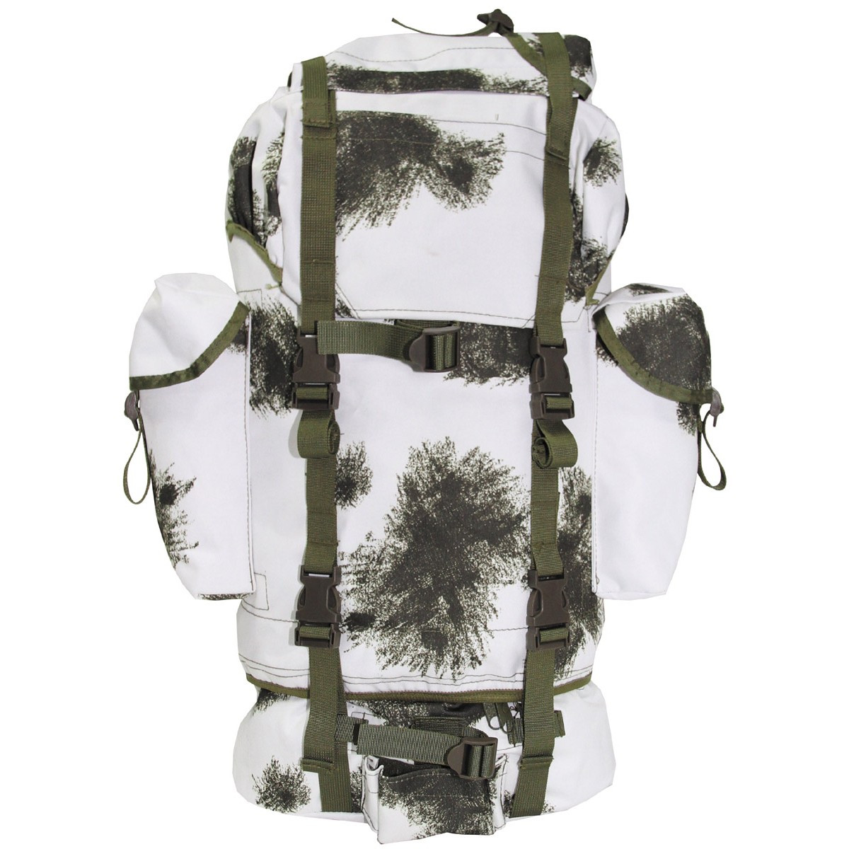 Рюкзак 65л зимний камуфляж MFH