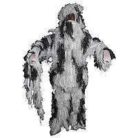 Костюм маскировочный Ghillie Suit снежный камуфляж MFH, фото 1