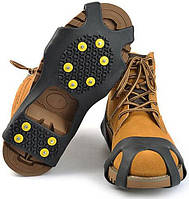 Ледоступы для обуви «10 штифтов» чёрные, фото 1