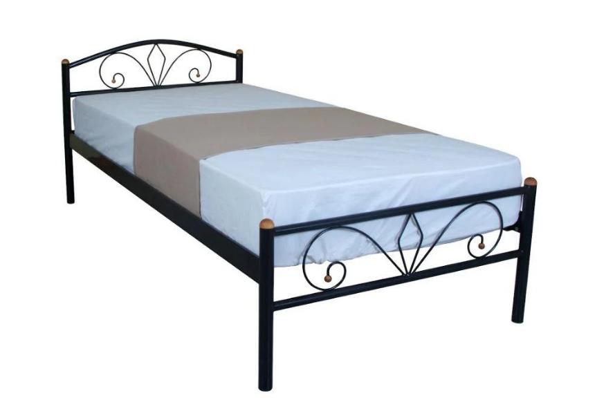 Кровать односпальная металлическая Акса Люкс TM Melbi