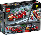 Конструктор LEGO Speed Champions 75886 Ferrari 488 GT3 Scuderia Corsa, фото 6