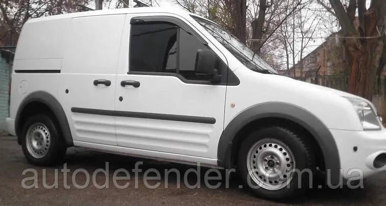Дефлекторы окон (ветровики) Ford Connect (Tourneo+Transit) 2002-2014, Cobra Tuning - VL, F31703