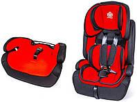 Детское автокресло BeFlye универсальное группа 1/2/3 (9-36 кг). Red (183327694)
