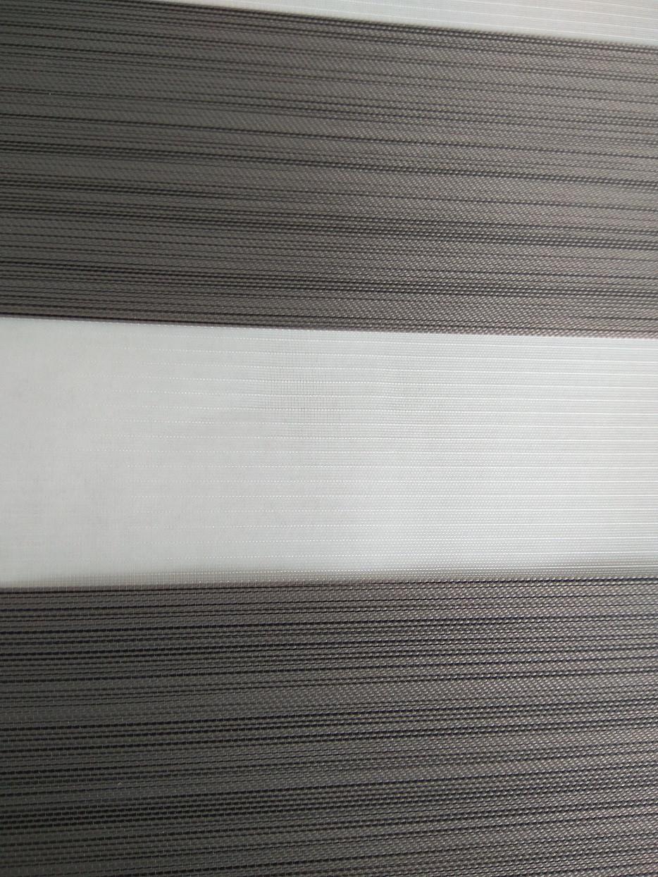 Ролета День-Ночь DIY Лофт серый
