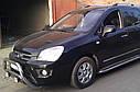 Кенгурятник двойной (защита переднего бампера) Kia Carens 2006-2012, фото 2