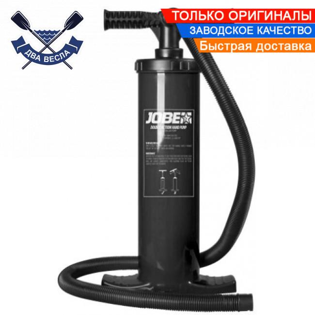 Ручной насос двойного действия Double Action Hand Pump давление до 1 бар и 4 насадки в комплекте