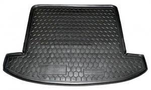 Авто коврик в багажник для KIA Carens (2013>) (7мест)