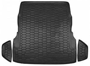 Авто коврик в багажник для MERCEDES W222 (с регулировкой сидений)