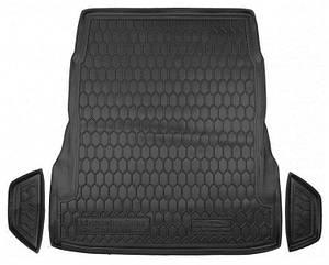 Авто коврик в багажник для MERCEDES W222 (без регулировки сидений)