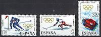 Испания 1968 спорт олимпиада MNH XF