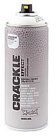 Краска аэрозольная Montana Crackle Effect эффект растрескивания (аэрозоль 400мл) Белый