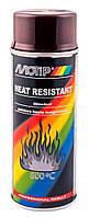 Краска термостойкая Motip Heat Resistant 800°C аэрозоль 400мл. Коричневый