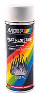 Краска термостойкая Motip Heat Resistant 800°C аэрозоль 400мл. Серый