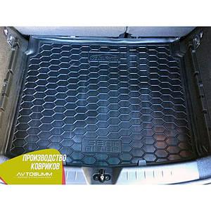 Авто коврик в багажник для SEAT Altea (нижняя полка)
