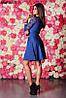 Женское платье гипюровый рукав 3 цвета , фото 2
