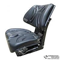 Сиденье универсальное премиум МТЗ, ЮМЗ, Т-16, Т-25, Т-40, Т-150 кресло с регулировкой веса (Турция), фото 1