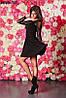 Женское платье гипюровый рукав 3 цвета , фото 4