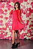 Женское платье гипюровый рукав 3 цвета , фото 6