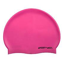 Шапочка для плавання дитяча SportVida SV-DN0019JR Pink, фото 3