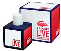 Мужская туалетная вода Lacoste Live Pour Homme (Лакост Лайф Пур Хомм) 100мл