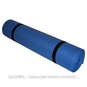Килимок (каремат) пляжний Champion 1800х600х5 синій