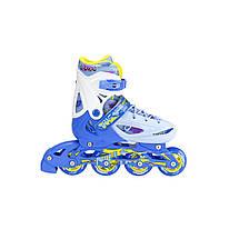 Роликовые коньки Nils Extreme NH1105A 3 в 1 Size 35-38 Blue, фото 2