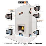 Вентиляційна решітка для каміна SAVEN 11х24 біла, фото 4