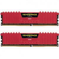 Модуль памяти для компьютера DDR4 32GB (2x16GB) 2400 MHz Vengeance LPX Red CORSAIR (CMK32GX4M2A2400C14R)