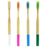 Набор зубных щеток colorful Bamboo 4 in 1