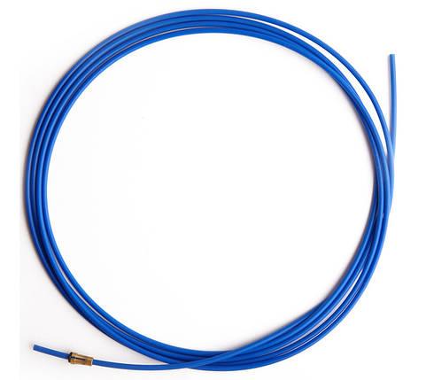 Направляючий тефлоновий канал синій довжина 3,2 м. (0,8-1,0), фото 2