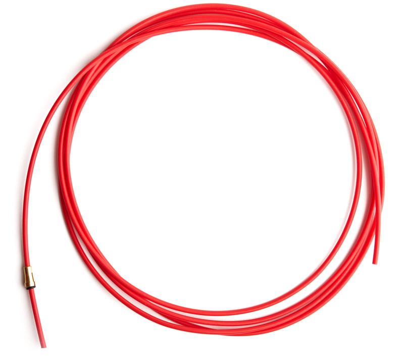 Направляючий тефлоновий канал червоний довжина 3,2 м (1,0-1,2)